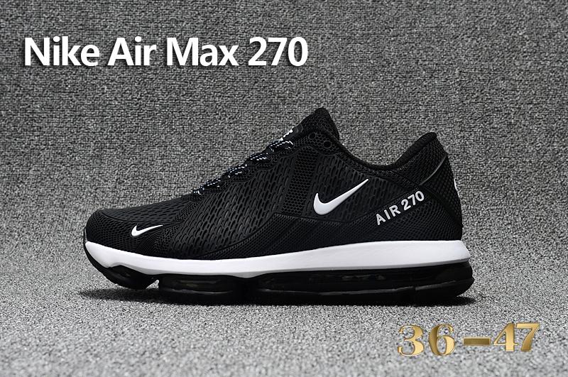 cheaper cce80 77b33 Acheter Nouvelle Mode Nike Air Max 270 Homme Chaussures Pas Cher Alainhemet