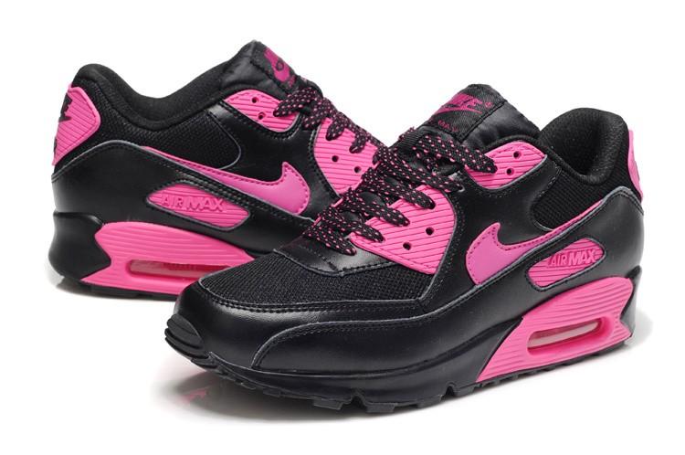 new products d4b14 fc3c1 Achat De ve Nike Air Max 90 Femme Rose Chaussures Pas Cher Alainhemet