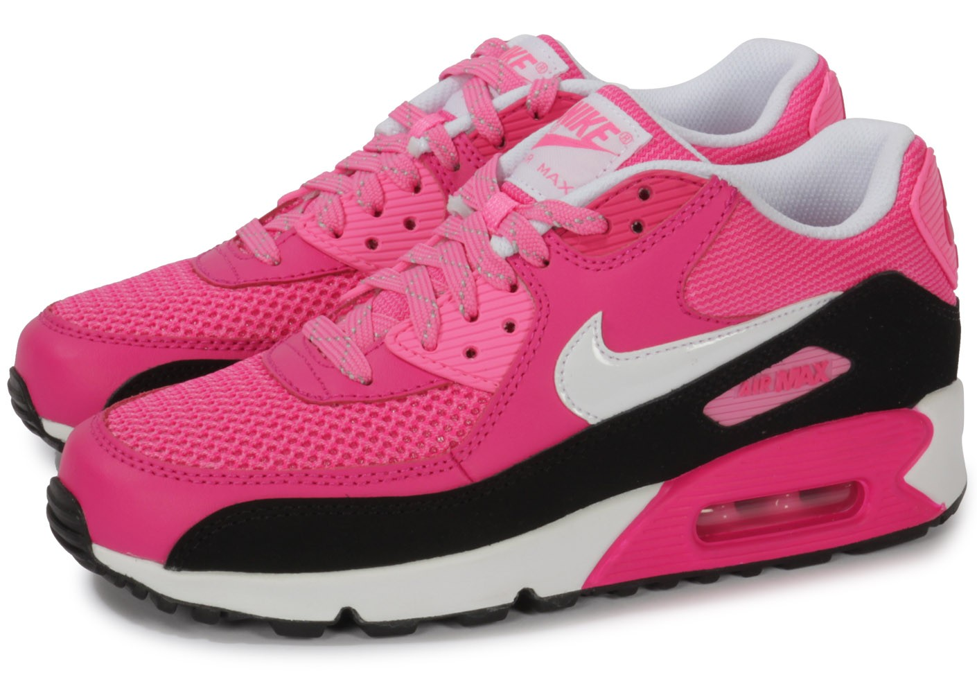 air max 90 rose fluo pas cher
