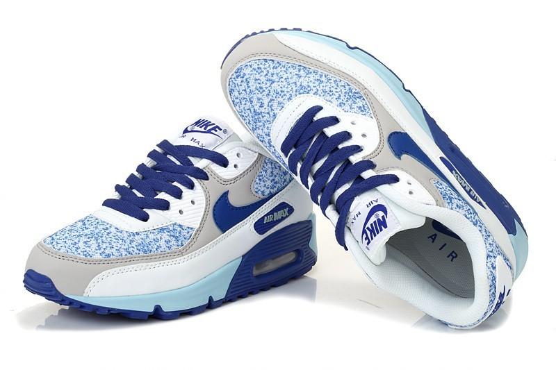 newest a5c38 31b4b Achat De ve Nike Air Max 90 Femme Blanche Chaussures Pas Cher Alainhemet
