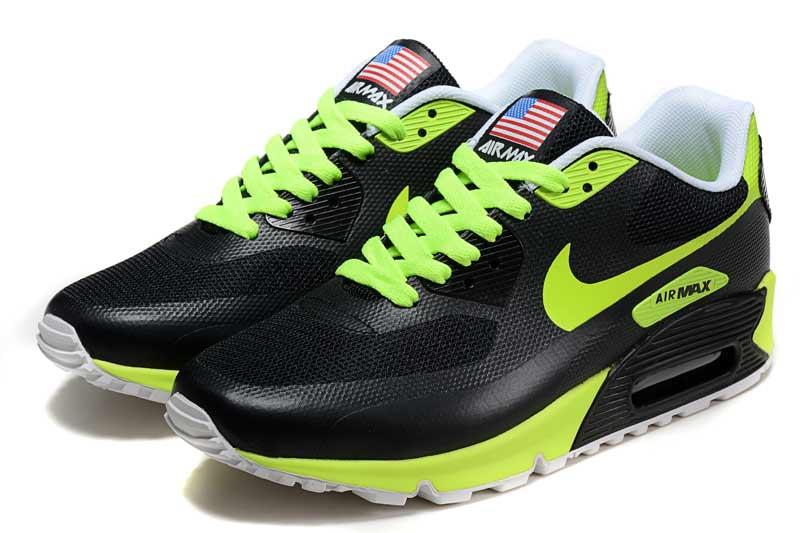 Achat De ve Nike Air Max 90 Homme Noir Chaussures Pas Cher Alainhemet 135e8d77aa59