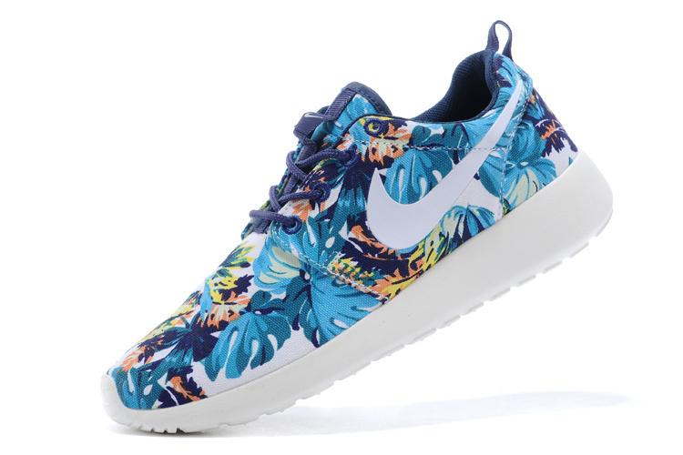 new arrival 05391 3bc99 Trouver La Sortie D usine Nike Roshe Run Femme Bleu Chaussures Pas Cher  Alainhemet