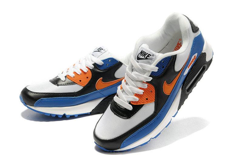 finest selection 866bc dc7df Achat De ve Nike Air Max 90 Homme Bleu Chaussures Pas Cher Alainhemet