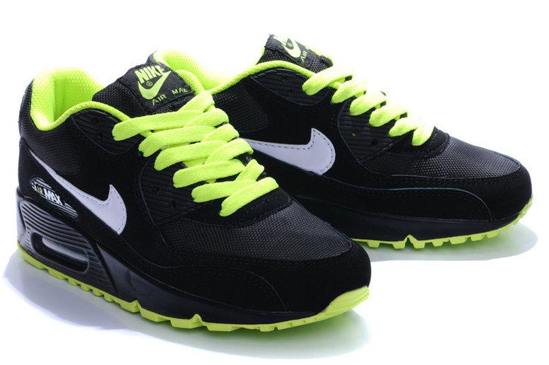 Achat De;ve Nike Air Max 90 Homme Noir Chaussures Pas Cher Alainhemet