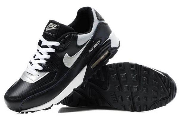 info for 35d0b 48a9b Achat De ve Nike Air Max 90 Femme Noir Chaussures Pas Cher Alainhemet