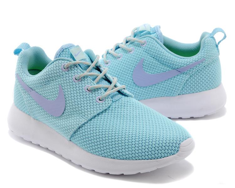 Trouver La Sortie D'usine Nike Roshe Run Femme Bleu Chaussures Pas Cher Alainhemet