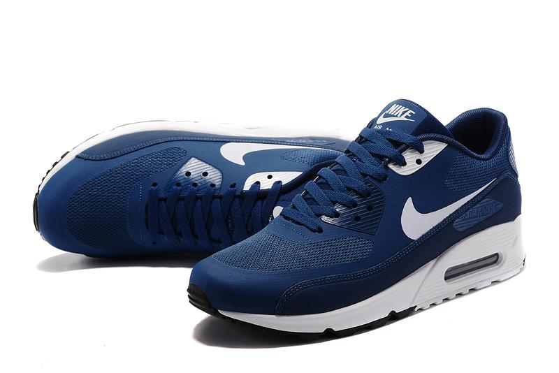 finest selection b1b84 a7833 Achat De ve Nike Air Max 90 Homme Bleu Chaussures Pas Cher Alainhemet