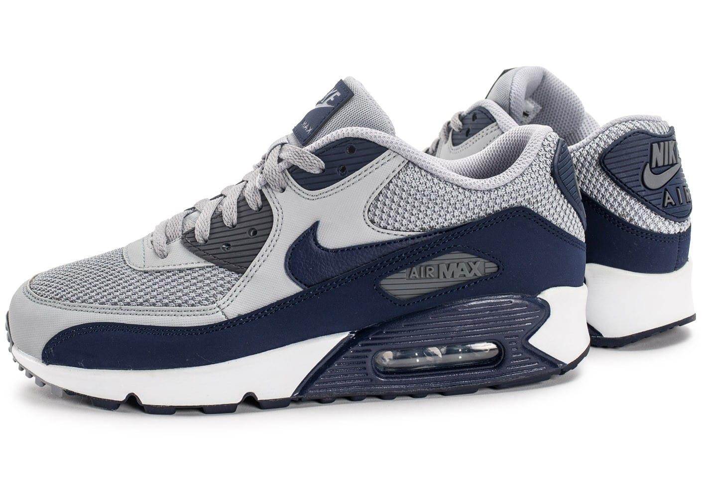 finest selection f0b69 b0f3d Achat De ve Nike Air Max 90 Homme Bleu Chaussures Pas Cher Alainhemet