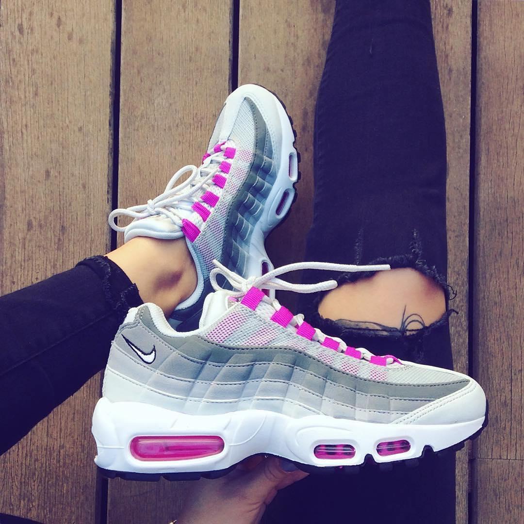 7e213446d5c Achat De ve Nike Air Max 95 Femme Chaussures Pas Cher Alainhemet