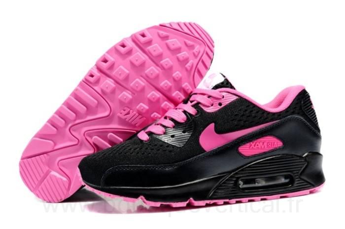 new products b2dd5 a6fd0 Achat De ve Nike Air Max 90 Femme Rose Chaussures Pas Cher Alainhemet