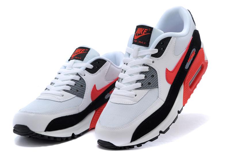 newest 13be8 21e0b Achat De ve Nike Air Max 90 Femme Blanche Chaussures Pas Cher Alainhemet