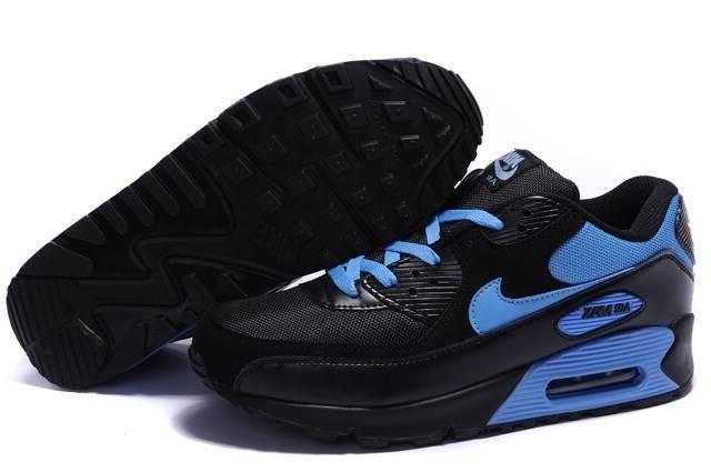 air max 90 homme noir et bleu