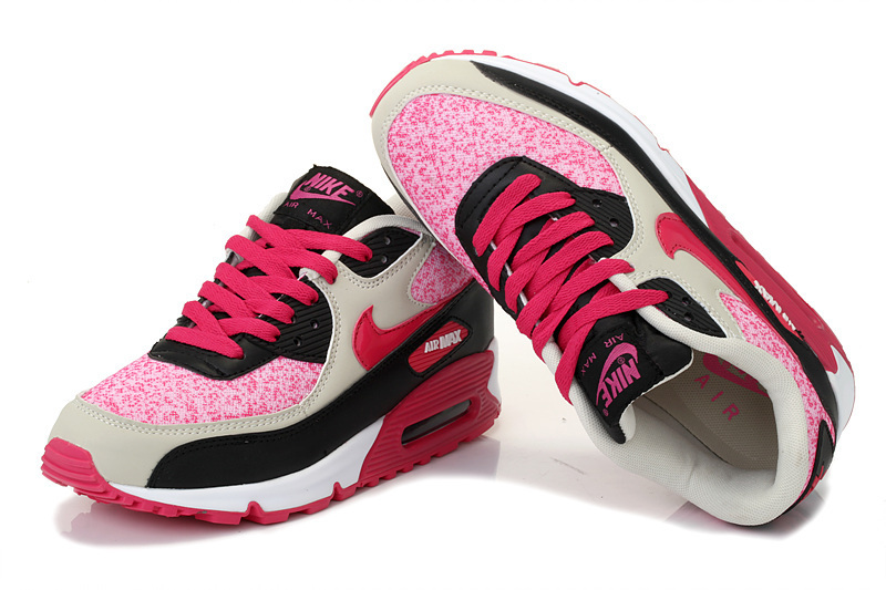 new products 38f16 5df3b Achat De ve Nike Air Max 90 Femme Rose Chaussures Pas Cher Alainhemet